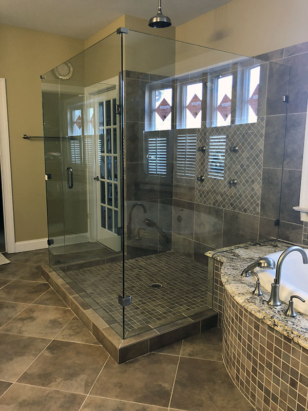 Residential Glass Services Cary Nc City Mirror Glass