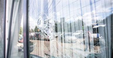 Damaged Glass