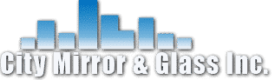 city mirror and glass logo